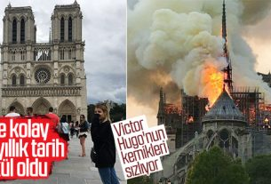 Bir tarih kül oldu: Notre Dame