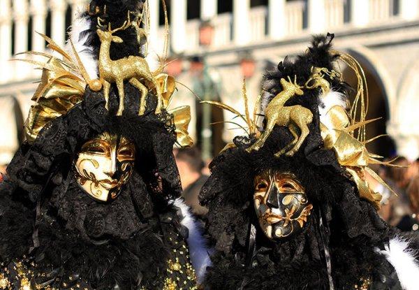 Festivalden fazlası: Venedik maskelerinin ilginç tarihi #5